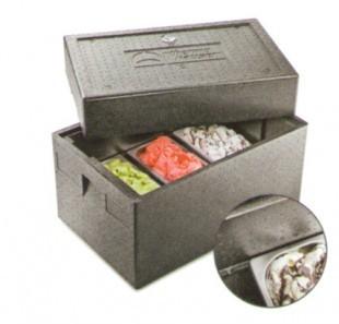Fagylalt szállító hőtárolós doboz
