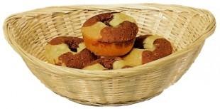 Ovális kenyér kosár