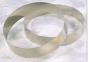 Tortakarikák  (rozsdamentes), 1,5mm anyagvastagság.