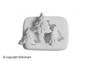 Sugarflex moulds, christmas tree
