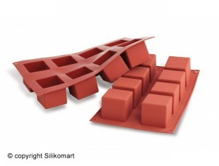 Cube form, silicone