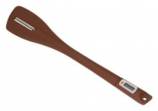 Keverő spatula hőmérővel