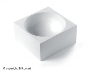 Szilikonos félgömb forma