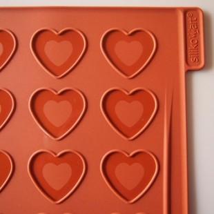 Macaron lap peremes szív
