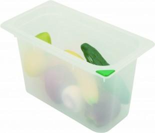 Tároló doboz 1/4 több méret +fedő.
