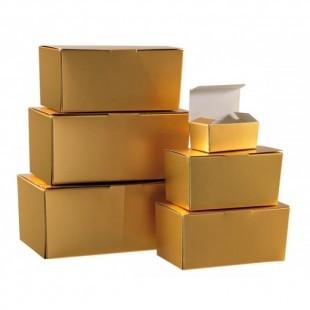 Bon-bon doboz, aranyszínű