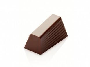 Csoki forma, bon-bon, bordázott hasáb