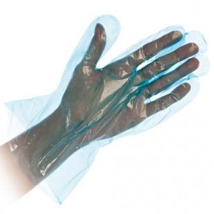 Polyclassic puha kesztyű, egyszer használatos, Kék
