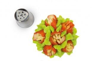 Flower tube for piping bag, 25 mm diameter, nr.07