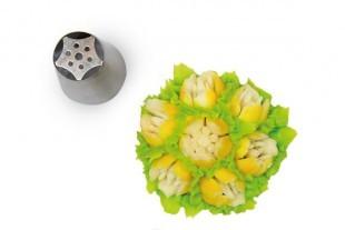 Flower tube for piping bag, 25 mm diameter nr.09
