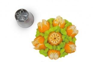 Flower tube for piping bag, 25 mm diameter, nr.06