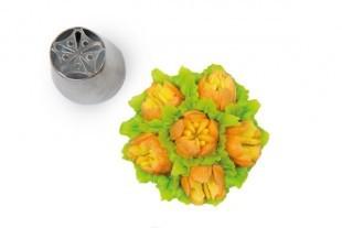 Flower tube for piping bag, 23 mm diameter, nr.12