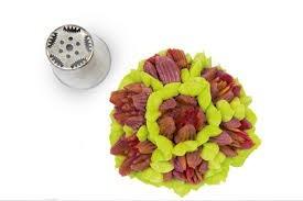 Flower tube for piping bag, 25 mm diameter, nr.05