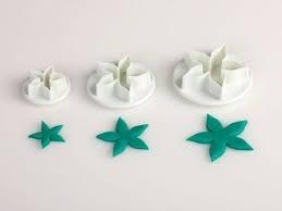 Cutter set rose petals 3pc/pack