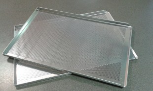 Perforated oven sheet