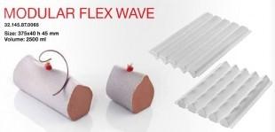 Szilikonos desszert forma / MODULAR FLEX WAVE /