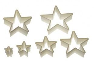 Kiszúró készlet csillag 5 ágú