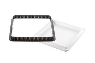 Szilikonos sütőforma készlet/KIT TARTE RING RECTANGULAR/